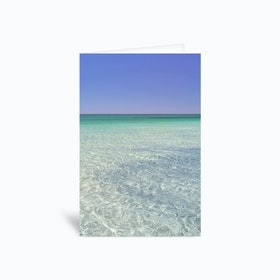 Crystal Clear Greetings Card