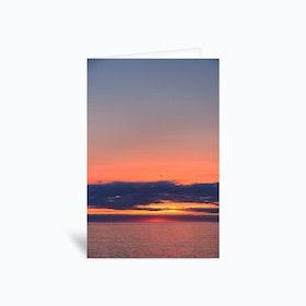 Beyond the Horizon Greetings Card