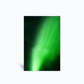 The Northern Lights 13 Greetings Card