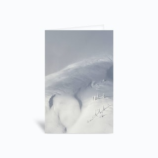 Planet Snow 2 Greetings Card