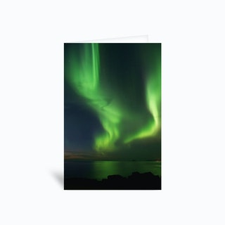 The Northern Lights 08 Greetings Card