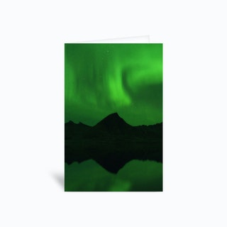The Northern Lights 06 Greetings Card