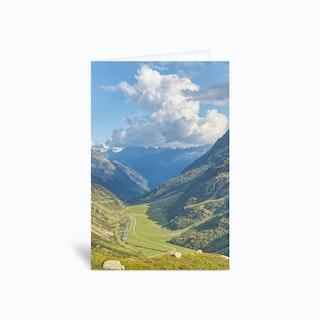 Swiss Valley Greetings Card