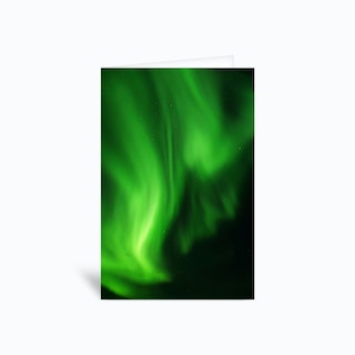 The Northern Lights 09 Greetings Card