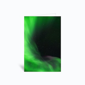 The Northern Lights 12 Greetings Card