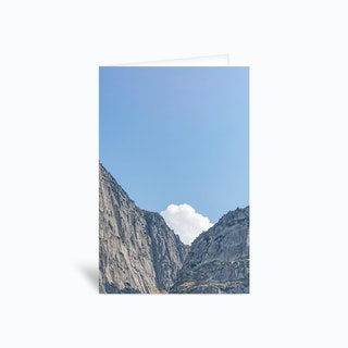 The White Cloud Greetings Card