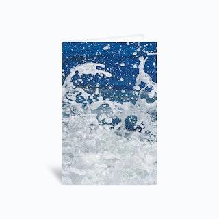 Super Splash 3 Greetings Card