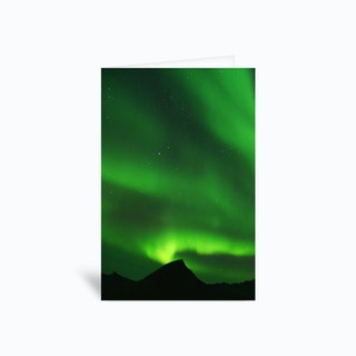The Northern Lights 07 Greetings Card