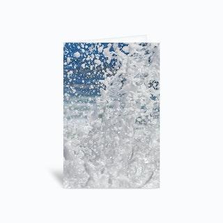 Super Splash 2 Greetings Card