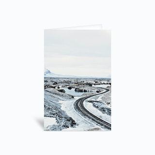 Near Myvatn Greetings Card