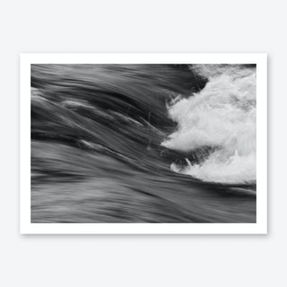 Smooth Turbulence Art Print