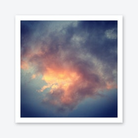 Fiery Cloud Art Print