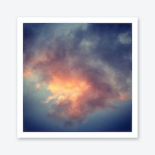 Fiery Cloud Art Print