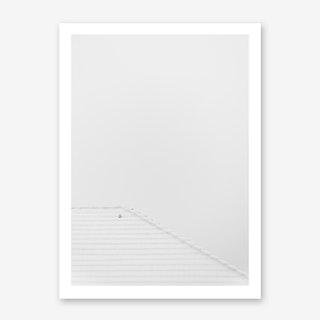 Endlich Wieder Schnee Art Print