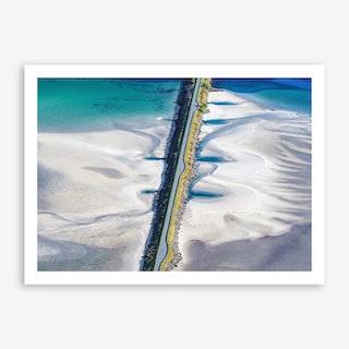 Crossing the Sands Art Print