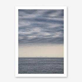 Lets meet at the Horizon 2 Art Print