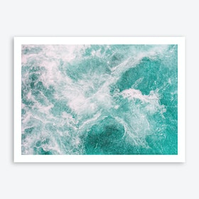 Whitewater 2 Art Print