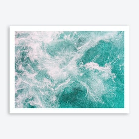 Whitewater 2 Art Print