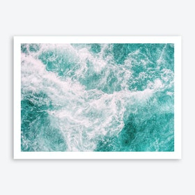Whitewater 3 Art Print