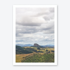 Roadside Views 1 Art Print