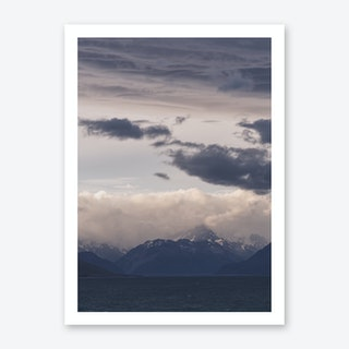 Mt Cook Likes To Hide 1 Art Print