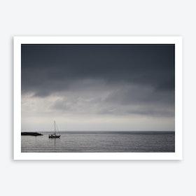 Tomorrow We Sail Art Print