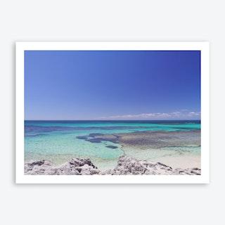 Rottnest Island Basin2 Art Print