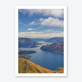 Roys Peak Lookout 2 Art Print