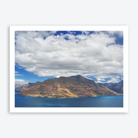 Skyline Queenstown 2 Art Print