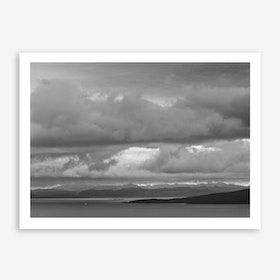 Highlands in sight Art Print