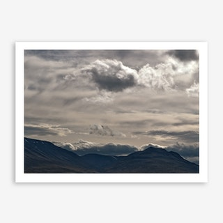 Clouds Rolling Over Art Print
