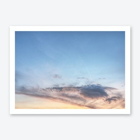 Alpine Evening Art Print