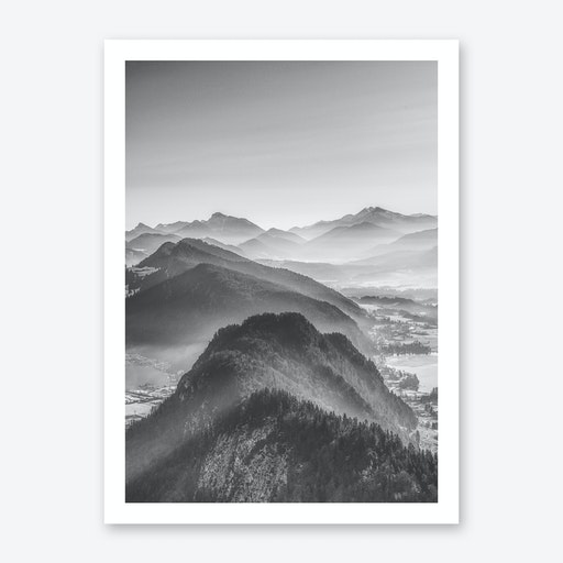 Balloon Ride Over the Alps III