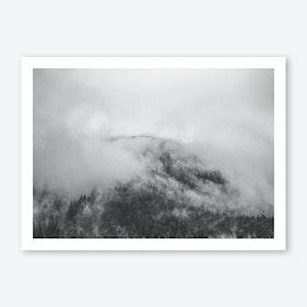 Moody Clouds I Art Print