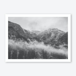 Moody Clouds II Art Print
