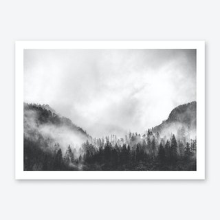 Moody Clouds IV Art Print