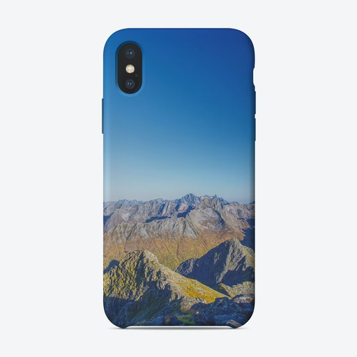 At the summit iPhone Case