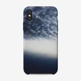 Drama above the Fjord iPhone Case
