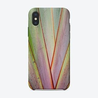 Flax Pattern iPhone Case