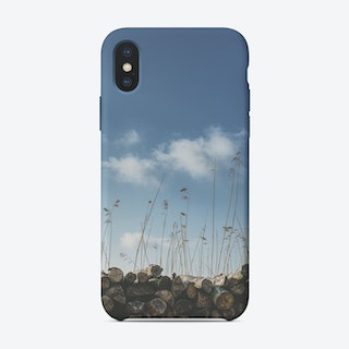 Logs & reed iPhone Case