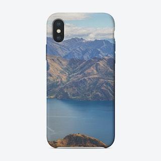 Roys Peak Lookout 1 iPhone Case