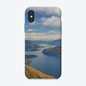 Roys Peak Lookout 2 iPhone Case