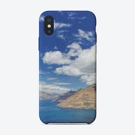 Skyline Queenstown 1 iPhone Case