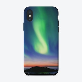 The Northern Lights 01 iPhone Case