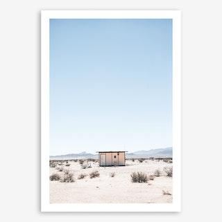 Desert House Art Print