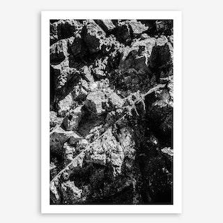 Rock Pattern #1 Art Print