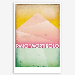 Passo Di Mortirolo I Art Print