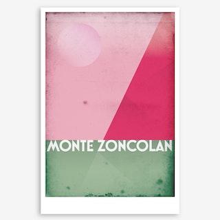 Monte Zoncolan I Art Print