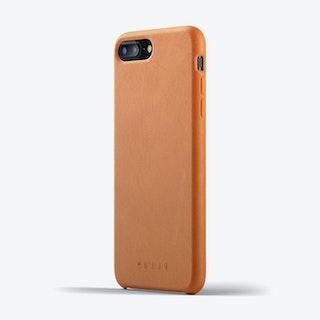 Full Leather Case for iPhone 8 Plus / 7 Plus - Tan