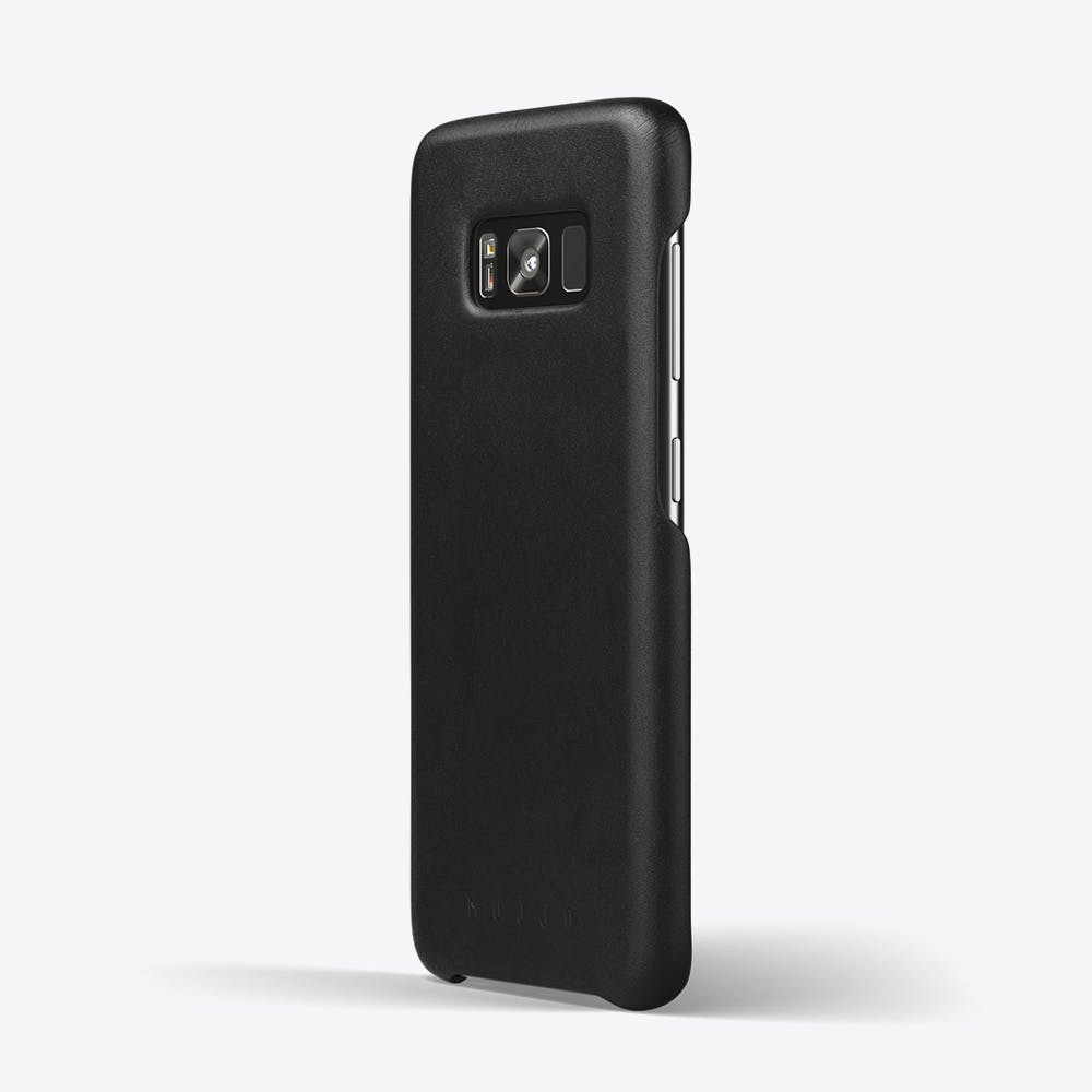 Leather Phone Case in Black